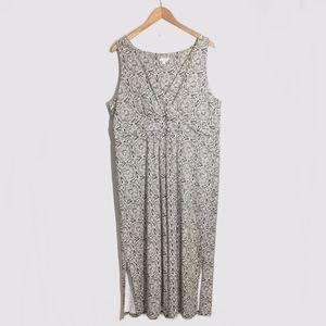 J. Jill Maxi Floral Dress Size XL